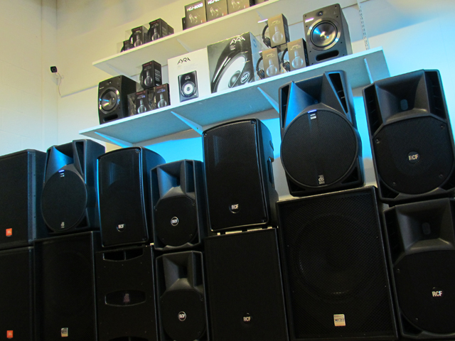 RCF Pioneer Alto Numark M-Audio KRK Alesis and All the Best Pro Audio Brands