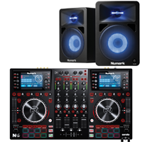 Image of DJ Controller & Speaker Packs