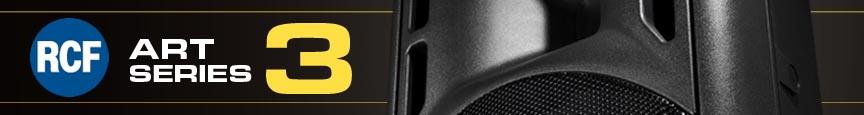RCF ART3 Series Speakers