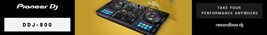 Pioneer DDJ-800 2 channel Pro rekordbox DJ controller