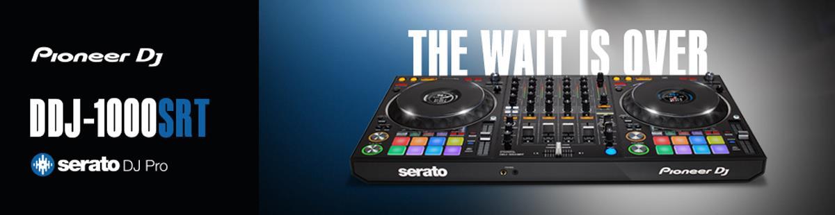 New Pioneer DDJ-1000SRT Serato DJ Pro Controller