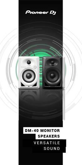Pioneer DM-40 Monitor Speakers - Versatile Sound