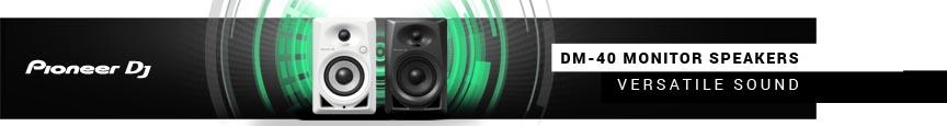 Pioneer DM-40 Monitor Speakers - Versatile Sound