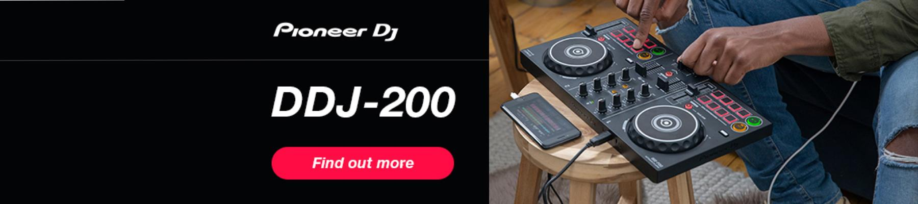 Pioneer DDJ200 Beginner Controller