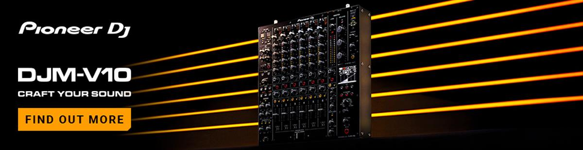 Pioneer DJM-V10 6-channel Professional DJ Mixer