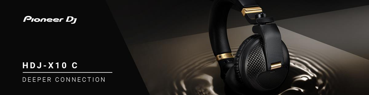 Pioneer HDJ-X10C Limited Edition Headphones