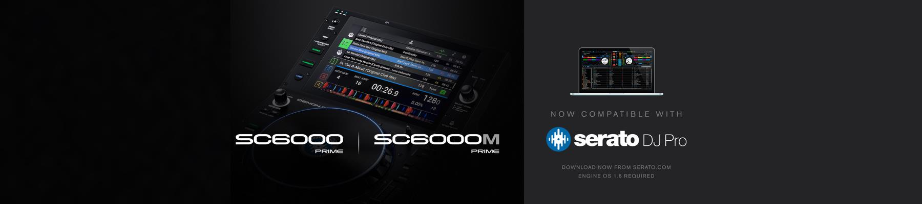 Serato DJ Pro Integration for SC6000 and SC6000M