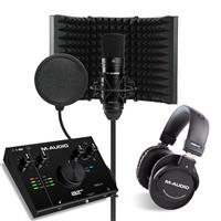 Image of M Audio AIR 192|4 Vocal Studio Pro & Isolation Shield Bundle