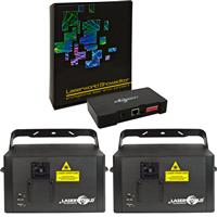 Image of Laserworld 2 x CS 1000RGB MKII & Showeditor