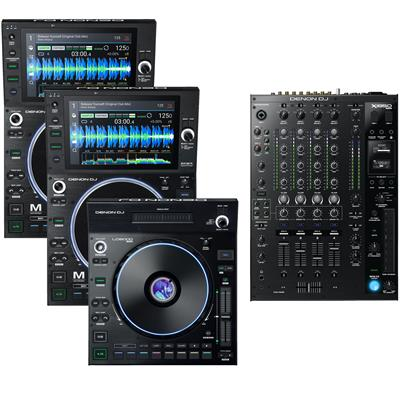 Image of Denon DJ SC6000M & X1850 LC6000 Package