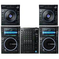 Image of Denon DJ SC6000M & X1850 Dual LC6000 Package