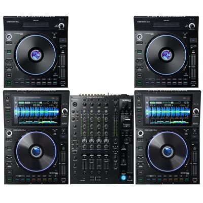 Image of Denon DJ SC6000 & X1850 Dual LC6000 Package