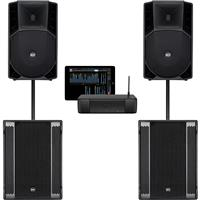 Image of RCF ART735A mk4 & SUB 8003AS II & M18 System