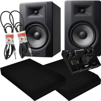 Image of M Audio BX8 D3 & AIR 192|4 Package