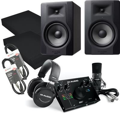 Image of M Audio BX8 D3 Vocal Studio Pro Package