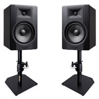 Image of M Audio BX8 D3 & Desktop Stand Package
