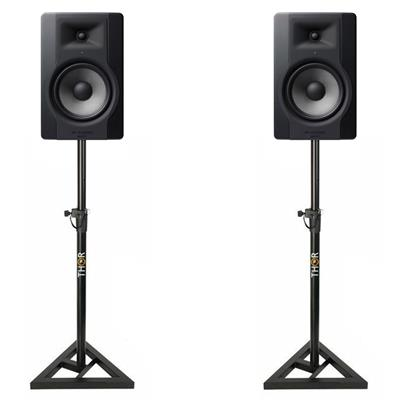 Image of M Audio BX8 D3 & Monitor Stand Package