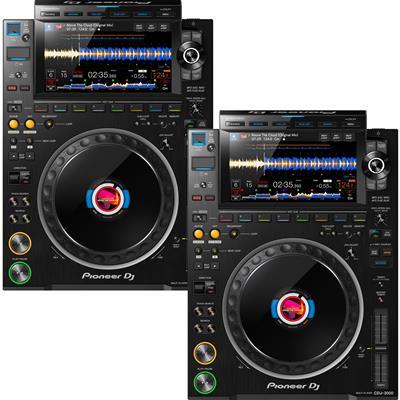 Image of Pioneer DJ CDJ3000 Pair