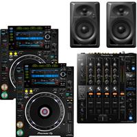 Image of Pioneer DJ CDJ2000 NXS2 & DJM750 Mk2 & DM40 Package