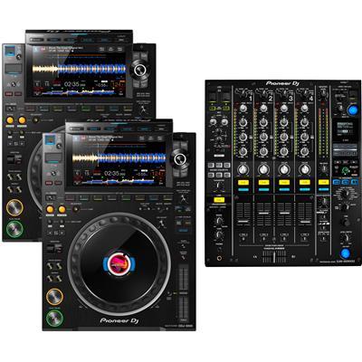 Image of Pioneer DJ CDJ3000 & DJM900 NXS2 Pack