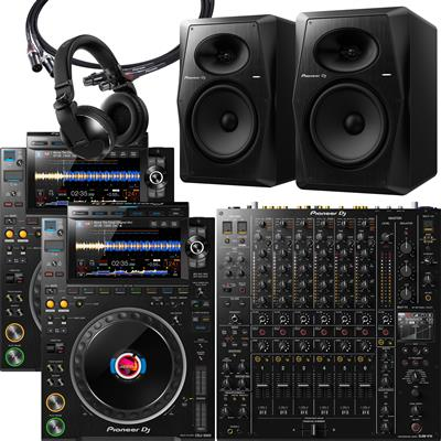 Image of Pioneer DJ CDJ3000 & DJMV10 Bundle