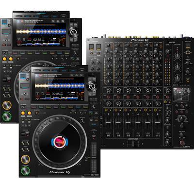 Image of Pioneer DJ CDJ3000 & DJMV10 Pack