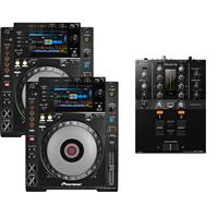 Image of Pioneer CDJ900 Nexus & DJM250 Mk2 Pack
