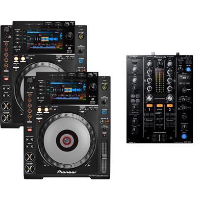 Image of Pioneer DJ CDJ900 Nexus & DJM450 Pack