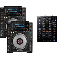 Image of Pioneer CDJ900 Nexus & DJM450 Pack