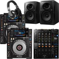 Image of Pioneer DJ CDJ900 Nexus & DJM750 Mk2 Pro Bundle
