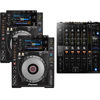 Image of Pioneer CDJ900 Nexus & DJM750 Mk2 Pack