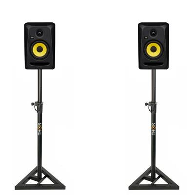 Image of KRK Classic 5 & Monitor Stand Package