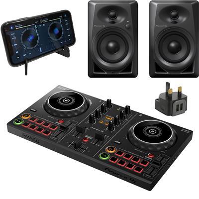 Image of Pioneer DJ DDJ200 & DM40 Power Pack