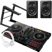 Image of Pioneer DJ DDJ400 & DM40 White Bundle