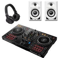 Image of Pioneer DJ DDJ400 & DM40 BTW & CUE1 Bundle