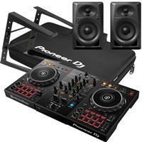 Image of Pioneer DJ DDJ400 & DM40 Complete Bundle