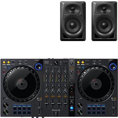 Image of Pioneer DJ DDJFLX6 & DM40 Package