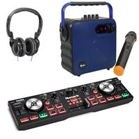 Image of Numark DJ2GO2 Touch Blue Party Pack