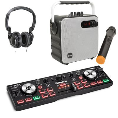 Image of Numark DJ2GO2 Touch White Party Pack