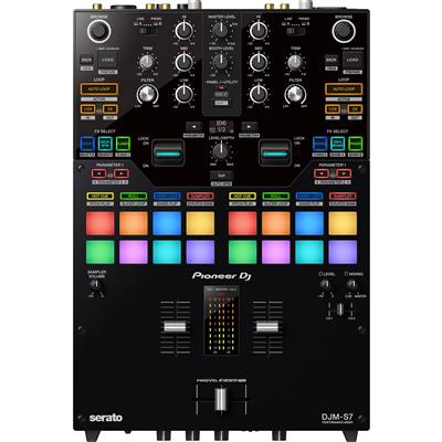 Image of Pioneer DJ DJMS7 2-channel scratch-style DJ mixer