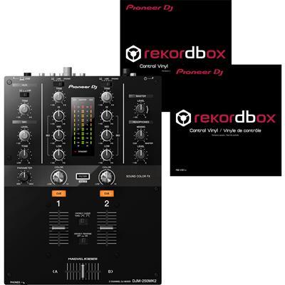 Image of Pioneer DJ DJM250 Mk2 & Vinyl Package