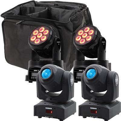 Image of Equinox Fusion Spot XP & 50 MkII Package 2