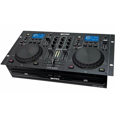 Image of Gemini CDM-4000 Twin CD/MP3/USB DJ Media Player