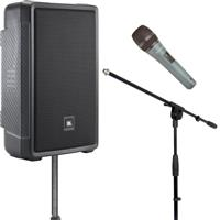 Image of JBL IRX112BT Stands & Mic Package
