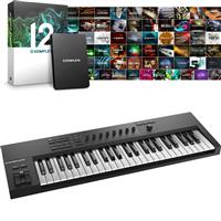 Image of Native Instruments Komplete Kontrol A49 & Komplete 12