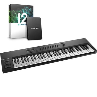 Image of Native Instruments Kontrol A61 & Komplete 12