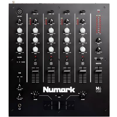 Image of Numark M6 USB 4-Channel USB DJ Mixer