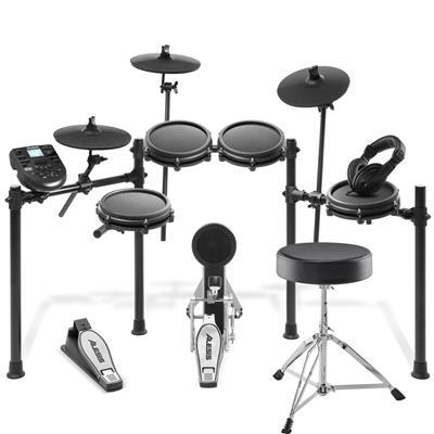 Image of Alesis Nitro Mesh Kit & Drum Essentials Bundle