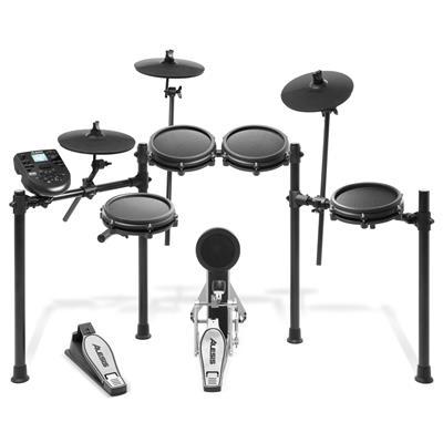 Image of Alesis Nitro Mesh Kit Eight-Piece Electronic Drum Kit with Mesh Heads