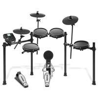 Thumbnail image of Alesis Nitro Mesh Kit Eight-Piece Electronic Drum Kit with Mesh Heads